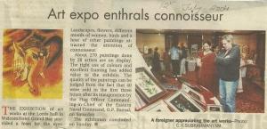 2004 - 'Art Expo Enthrals Connoisseur'