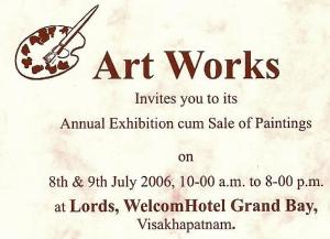 Artworks Exhibition 2006