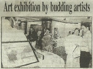 'Art exhibition by budding artists'