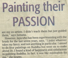 2006 article: 'Painting their passion'