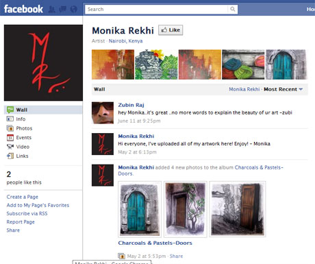 Monika Rekhi @ Facebook