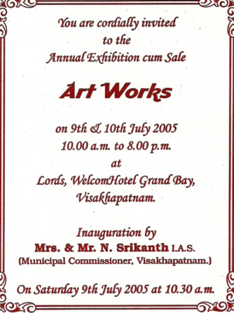 Sample invitation for clothes exhibition gallery invitation sample invitation letter for jewellery exhibition gallery invitation sample invitation for clothes exhibition gallery invitation sample invitation stopboris Gallery